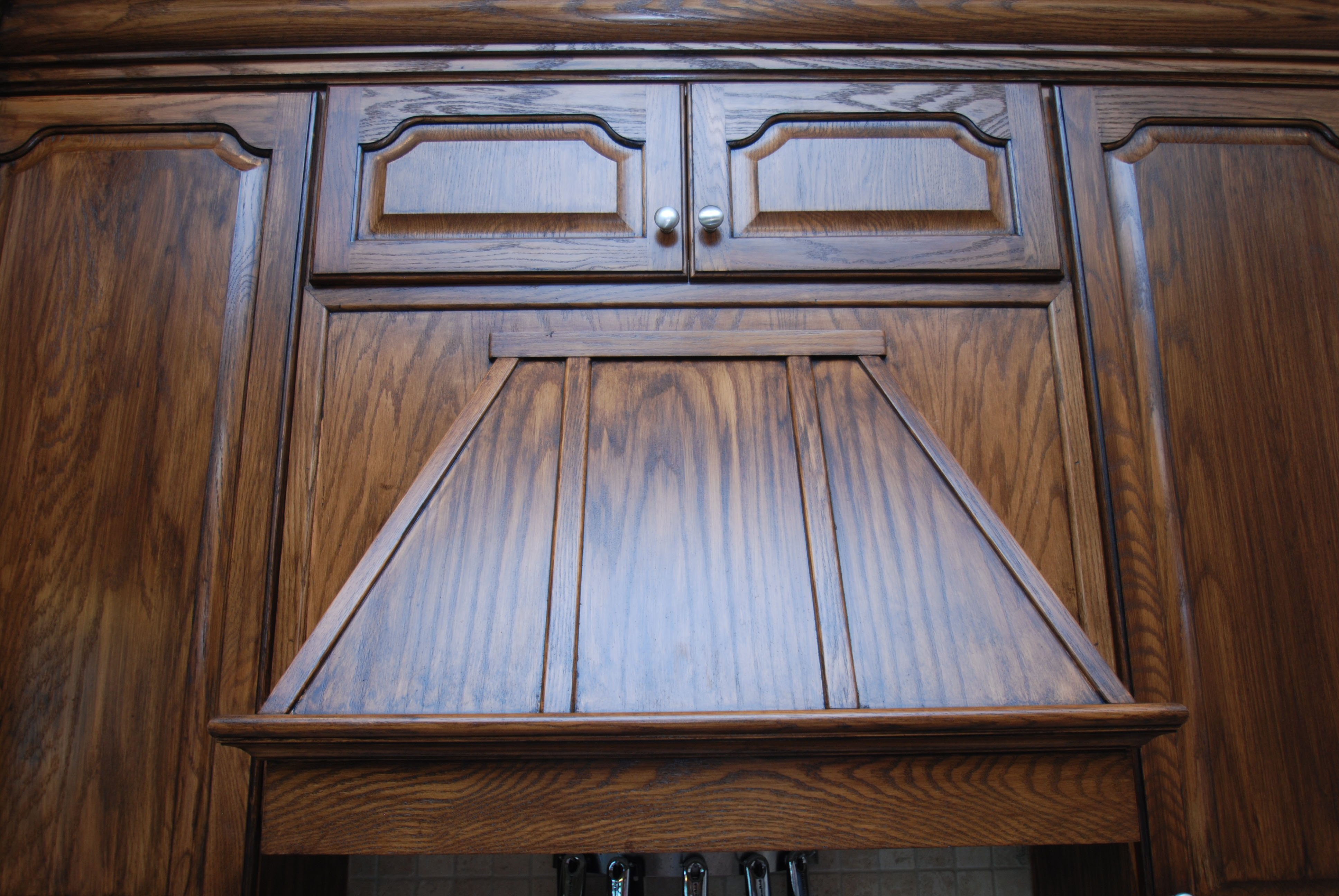 stained cabinets, cabinet refinishing