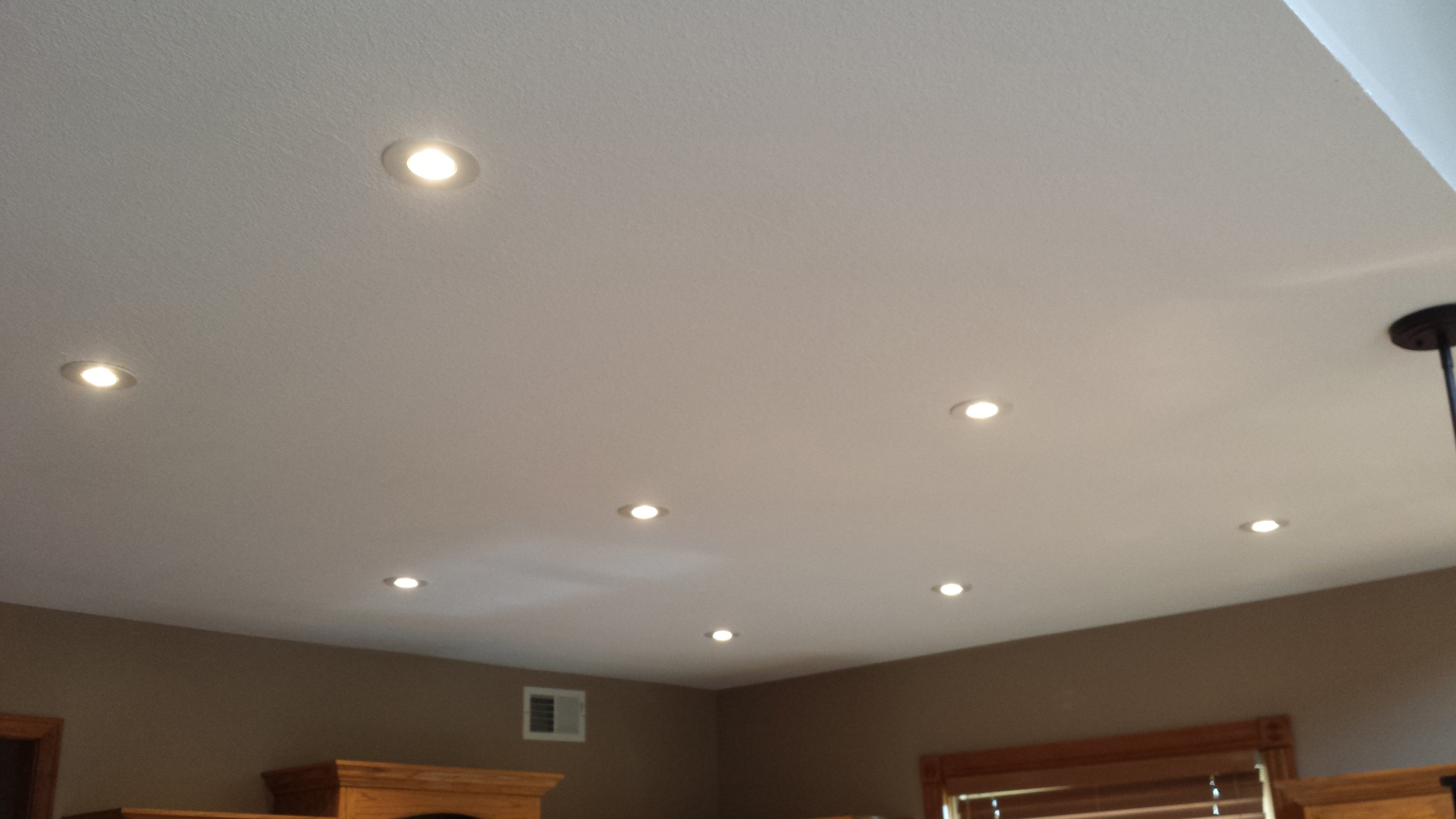 ceiling texture in knock down finish