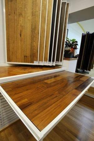 legno per parquet di diversi colori