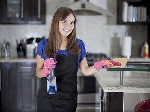pulizia cucina