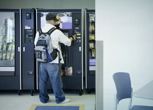 Vending machine installation
