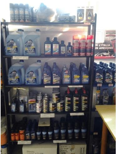 prodotti per carrozzeria auto, articoli per il fai da te, bombolette spray per ritocco auto