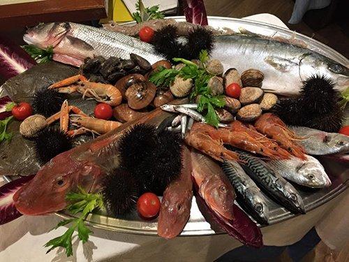 pesce misto freschi