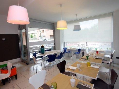 Il ristorante A Tavola da Patrizia dispone di trenta posti a sedere.