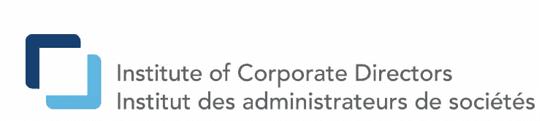 institute of corporate directors