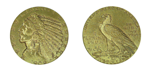 $5 Indian Gold Piece (1908-1929)