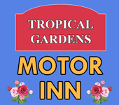 Tropical Gardens Motor Inn logo