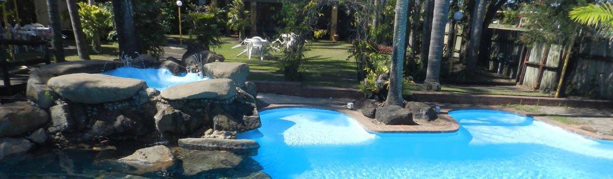 Tropical Gardens Motor Inn enterance