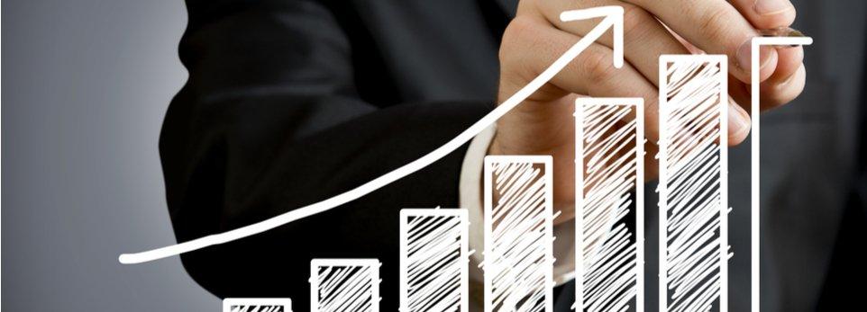 grafico sulla crescita finanziaria