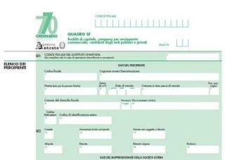 Dichiarazione sostituti d'imposta