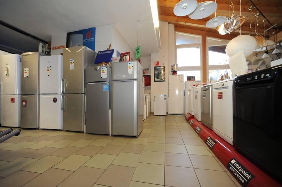 frigoriferi in esposizione