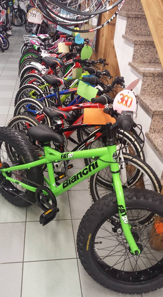 mountain bike da bambino