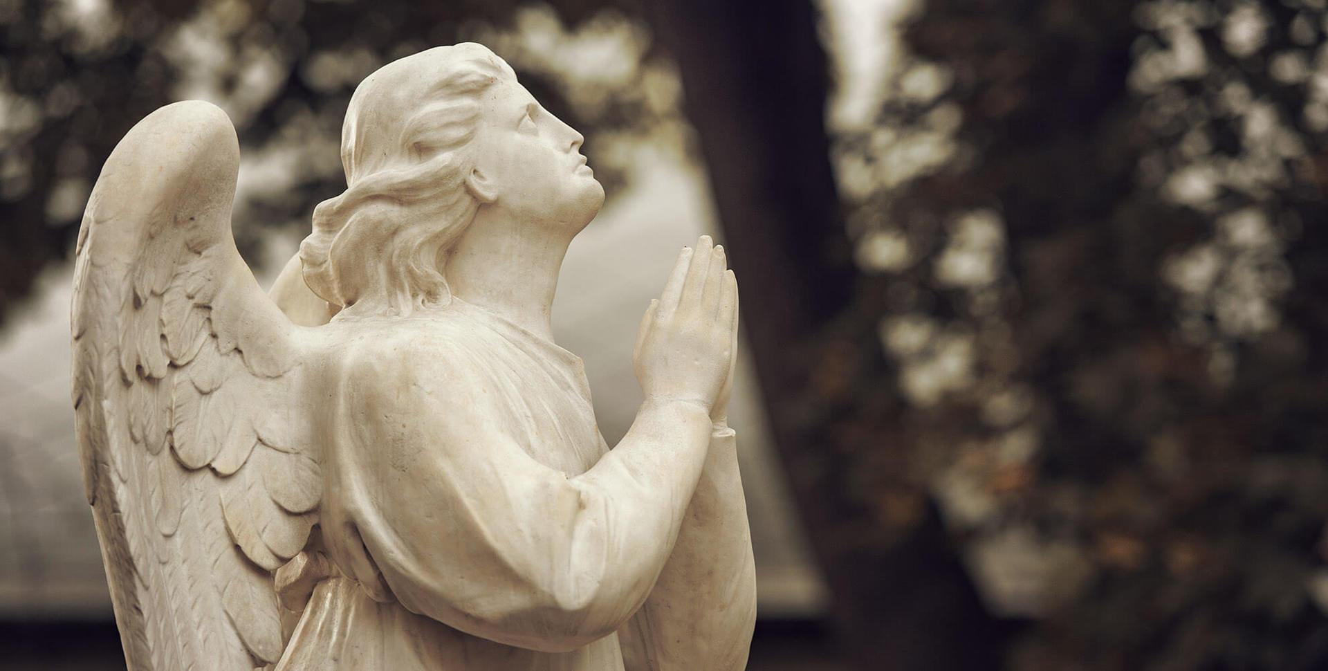 statua di angelo