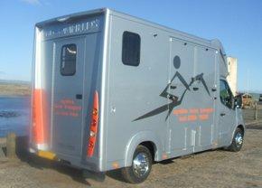Horse transport - Ayreshire, Scotland - Ayshire Horse Transport - Horse