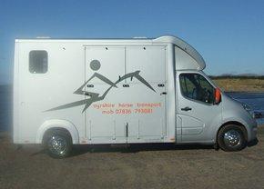 Transportation for horses - Ayreshire, Scotland - Ayshire Horse Transport - Horse