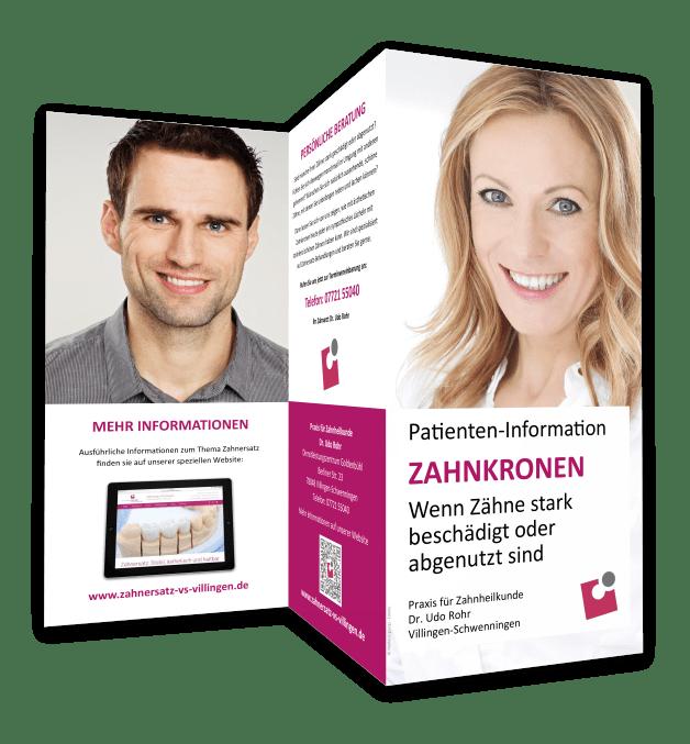 Zahnkronen Villingen-Schwenningen: Information für Patienten