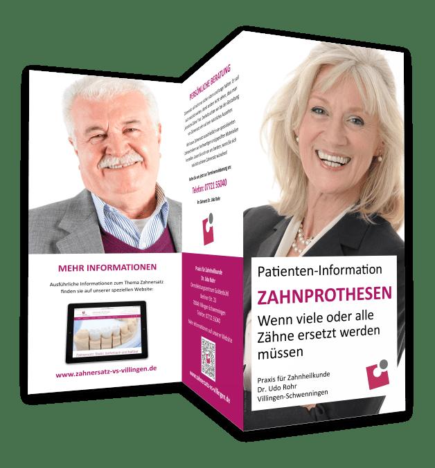 Zahnprothesen Villingen-Schwenningen: Information für Patienten