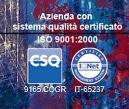 Azienda Certificata Iso 9001 2000