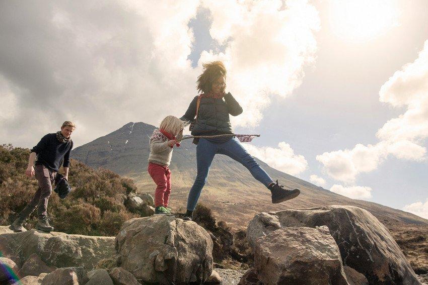 walkers in Scotland