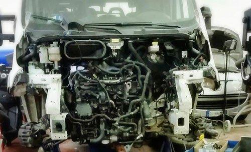 motore di una vettura
