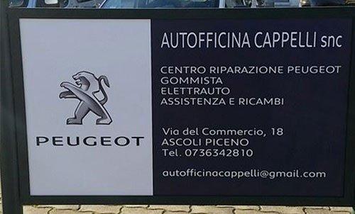 Contatti Autofficina Cappelli ad Ascoli Piceno