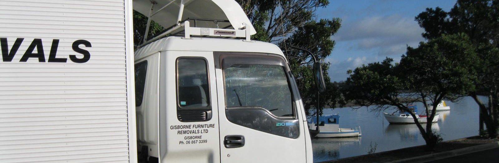 Relocation experts' van in  New Zealand
