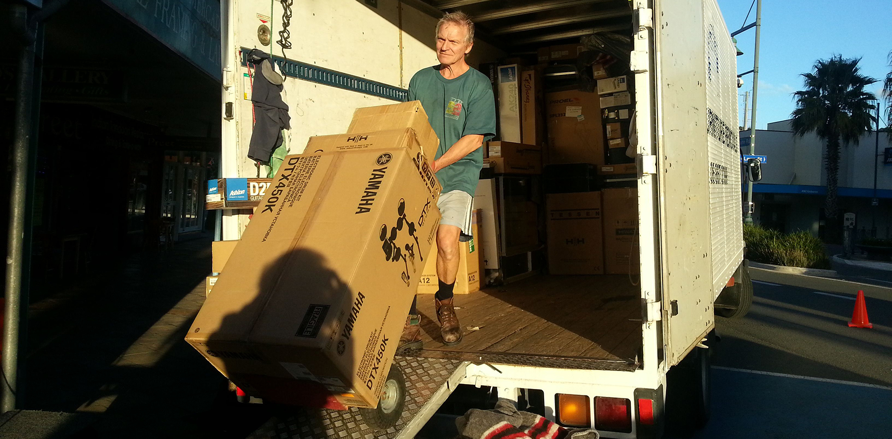 Furniture removals available across New Zealand