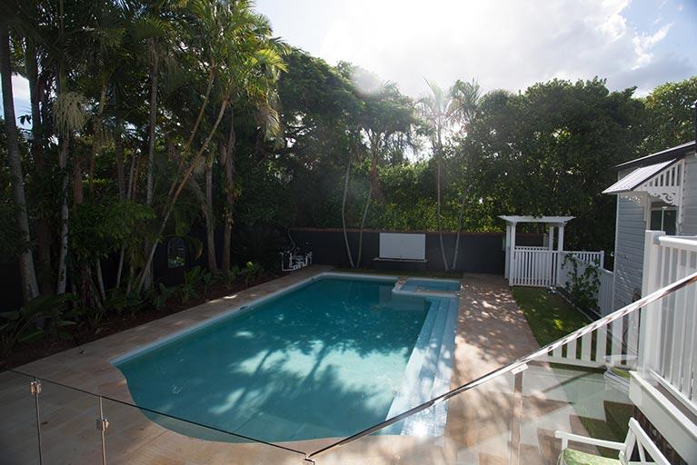 pool renovation backyard ascot