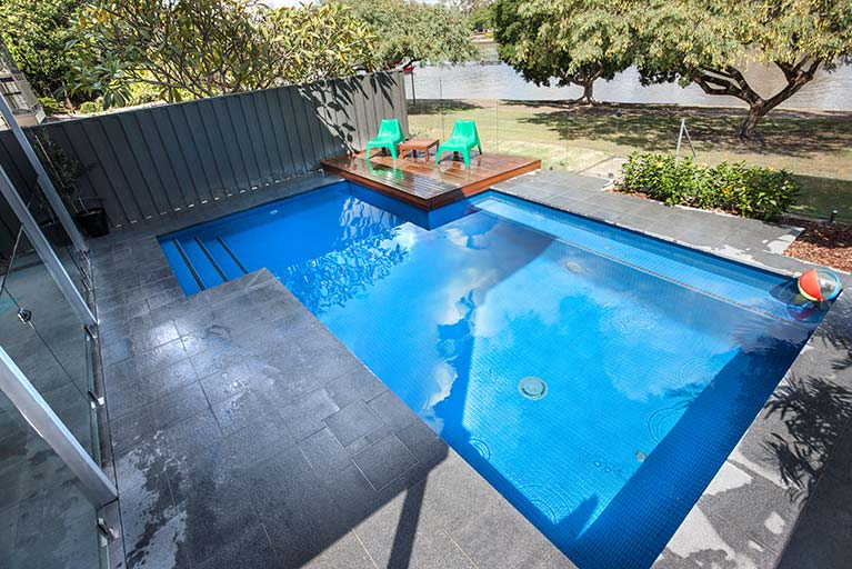 modern pool renovation new farm