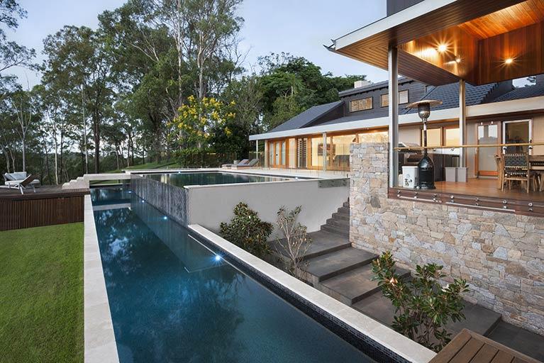 infinity pool brookfield residential pools42 infinity