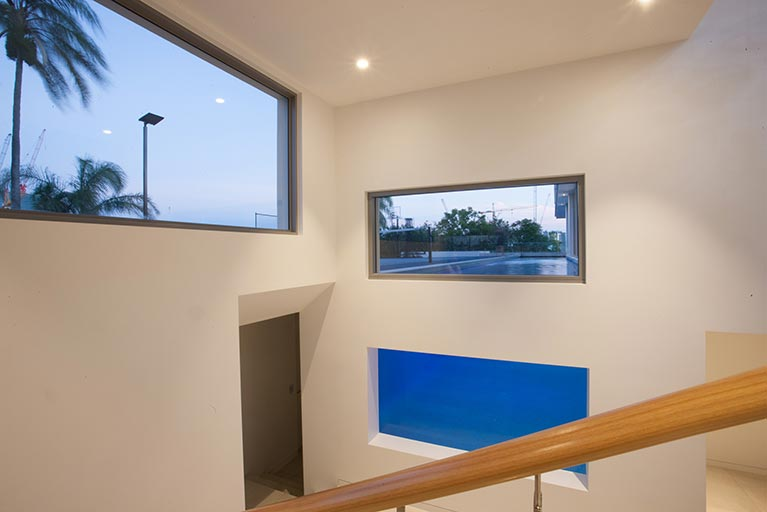 staircase window to pool bowen hills