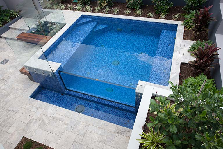 pool with glass fence carindale