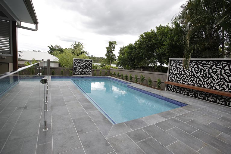 new pool design corinda