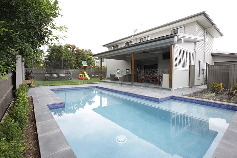 house and pool corinda