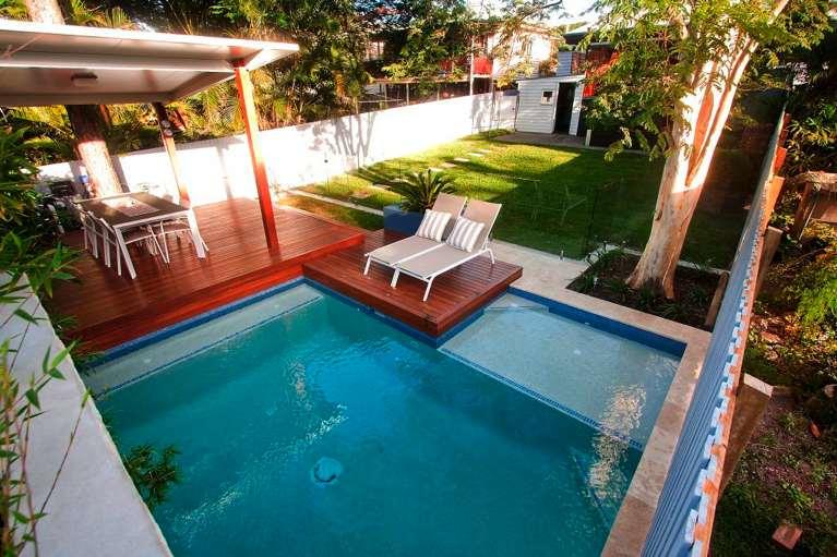 plunge pools brisbane norfolk pools. Black Bedroom Furniture Sets. Home Design Ideas