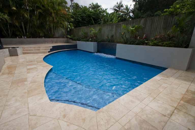 Modern designed pools