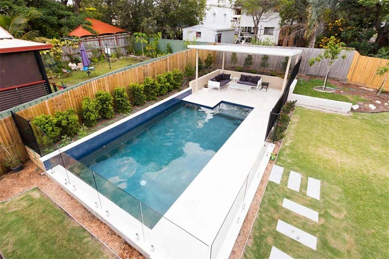 Norfolk Pools Bulimba Family Pool Project 01