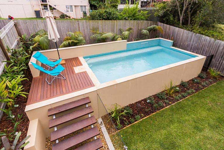 Pool advice brisbane norfolk pools Swimming pools brisbane prices
