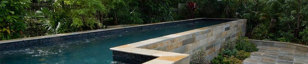 Finished product after lap pool installation in Brisbane