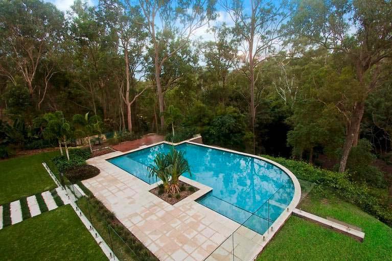 Resort pool contractors building in brisbane norfolk pools for 50000 pool design