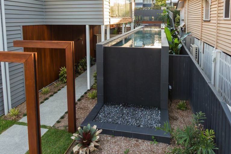 Modern Lap Pool Installation In Brisbane Norfolk Pools