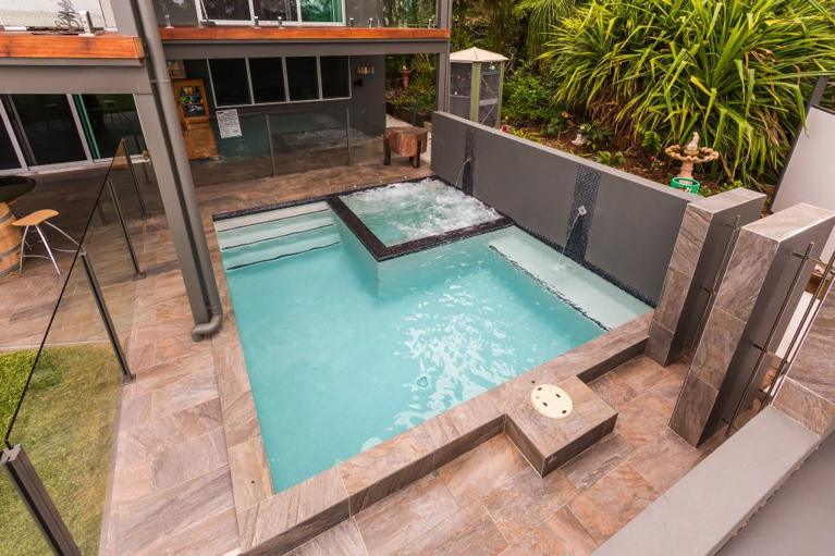 pool 3m rund plunge pools brisbane norfolk pools