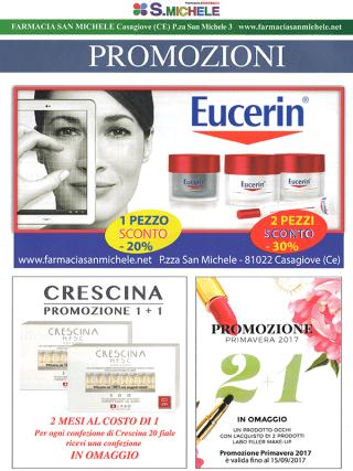 promozione eucerin, crescina e prodotti labo filler make up