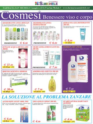 promozioni cosmesi benessere viso e corpo
