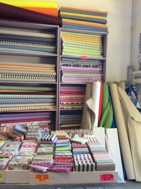 tessuti, lavori hobbistica, tende