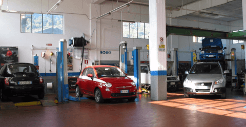 Riparazione autovetture Fiat