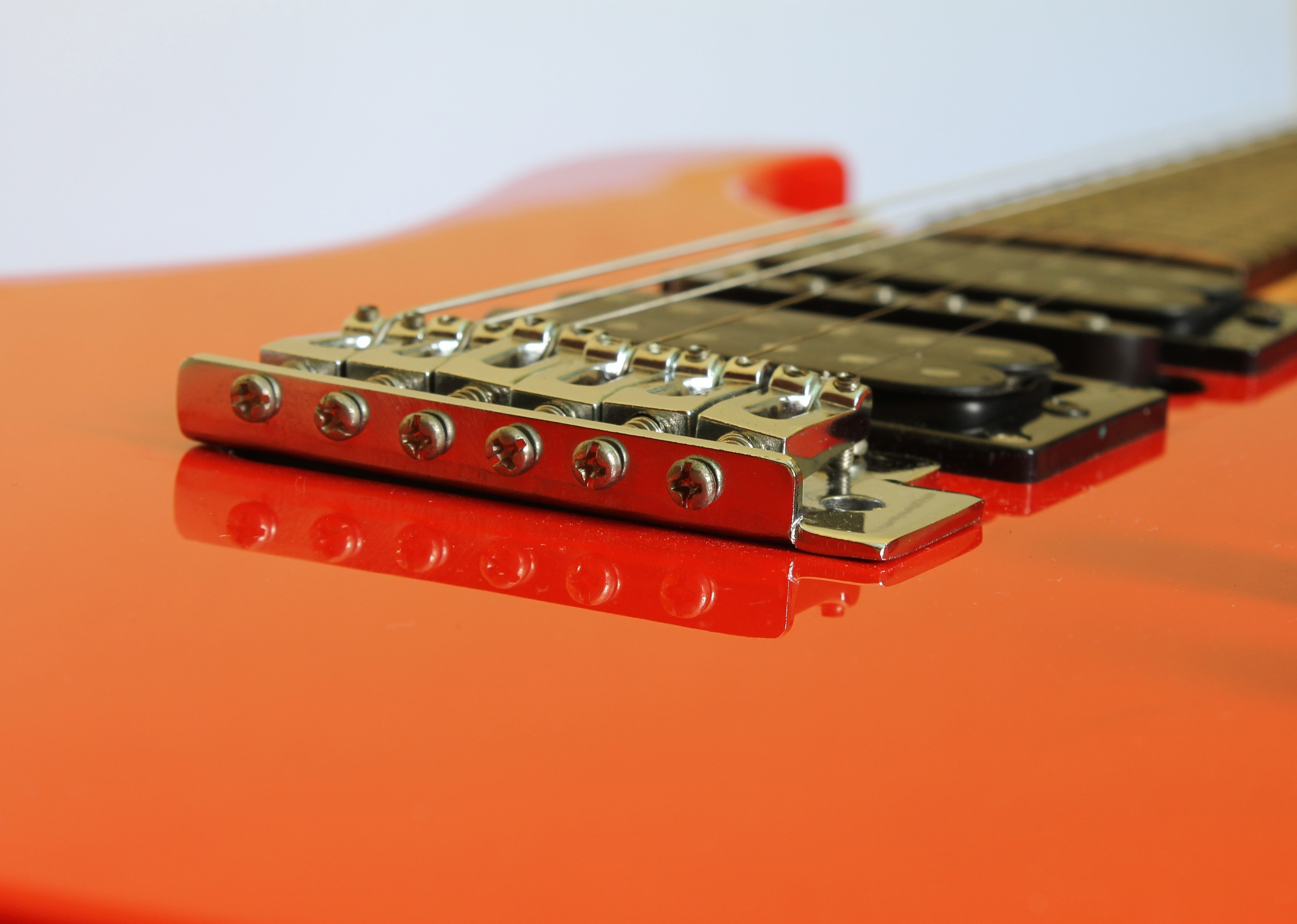 Red Shred Guitar