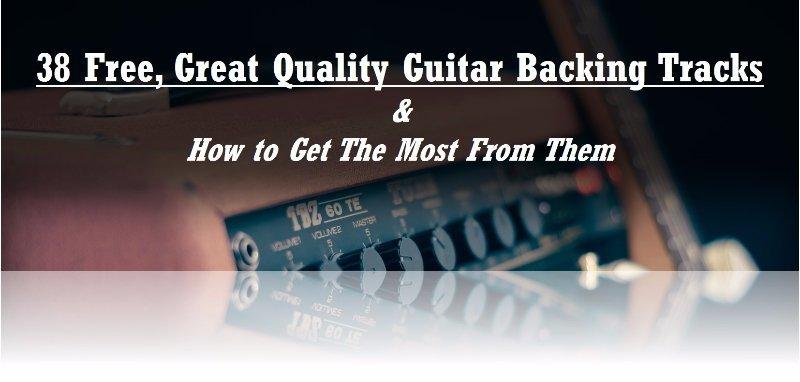 Free Guitar Backing Tracks