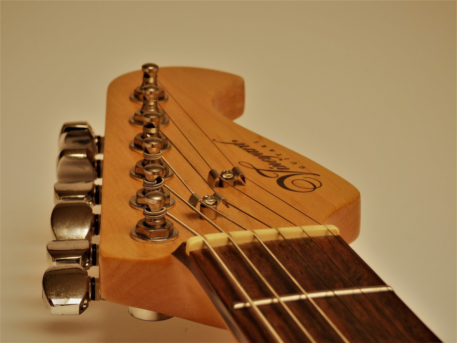 Stratocaster Guitar Headstock