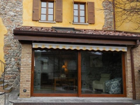 porta finestra a vetri